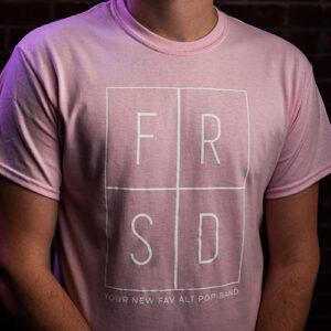 frsd your new fav alt pop band light pink t-shirt